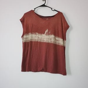 We the Free Rust Red XS T-Shirt